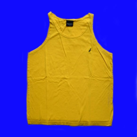Nautica yellow sleeveless tank